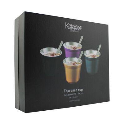 Set Keep Espresso Cup / 8 Piezas