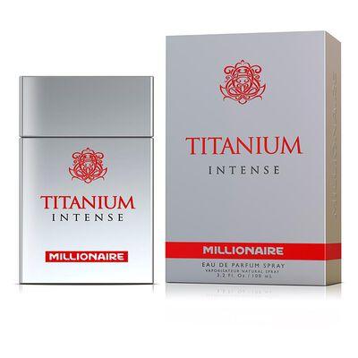 Perfume Hombre Titanium Intense Millionaire / 100 Ml / Eau De Parfum