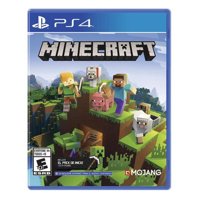 Juego Ps4 Minecraft Starter Collection