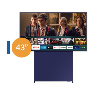 "Qled Samsung The Sero / 43"" / Ultra HD 4K / Pantalla Giratoria / Smart TV 2020"