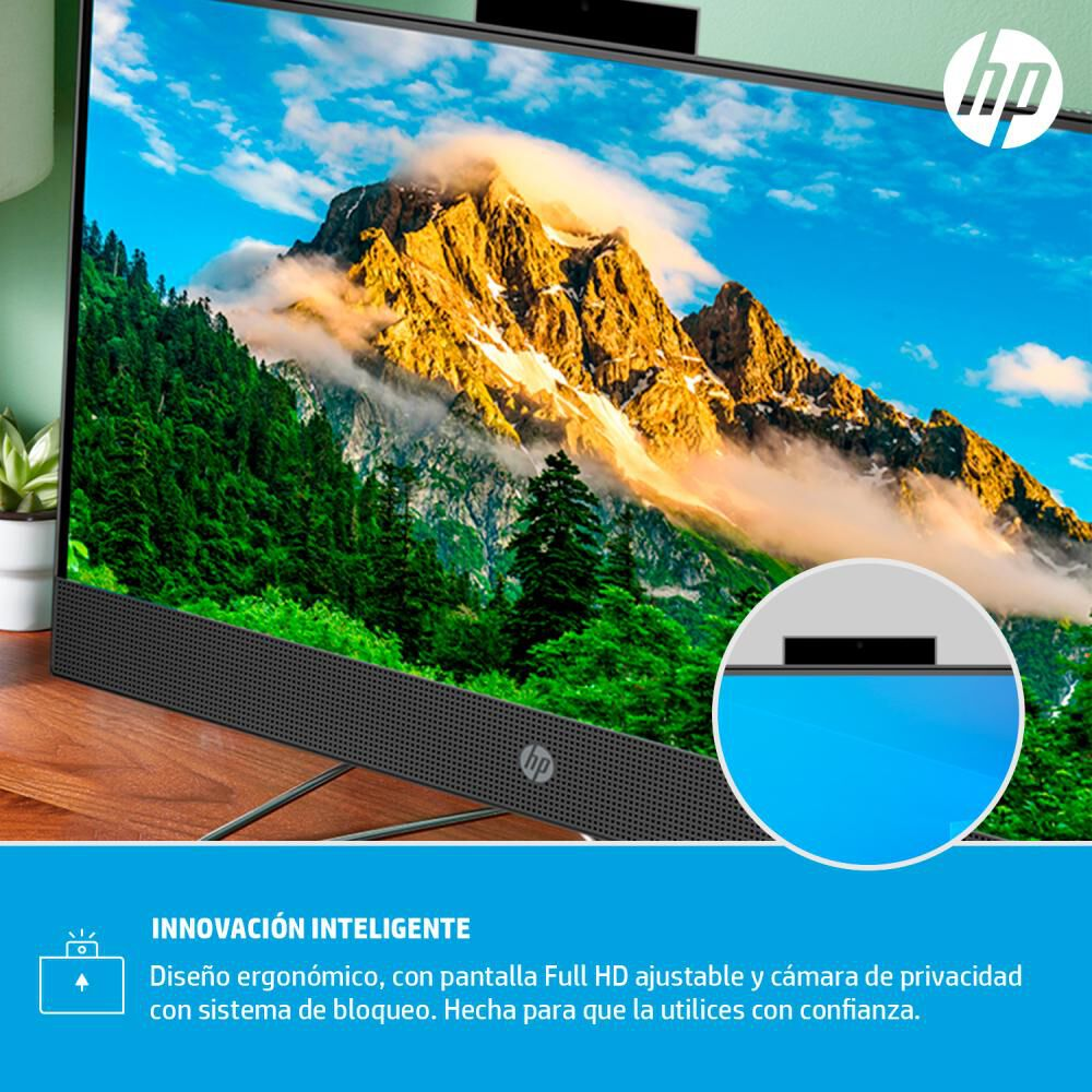 """All In One Hp V / Intel Core I3 / 4 Gb Ram / Intel Uhd / 1 Tb Hdd / 24 """" image number 8.0"""