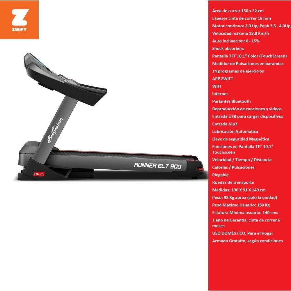 Trotadora Bodytrainer Runner Elt 900 image number 1.0