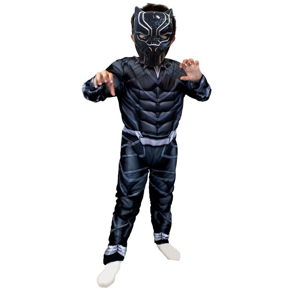 Disfraz Glam Black Panther Talla 4/6 image number 0.0