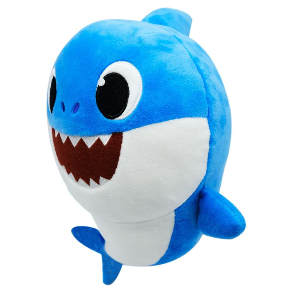 Bs08003 Peluche Papa Shark 11.5 Son image number 0.0