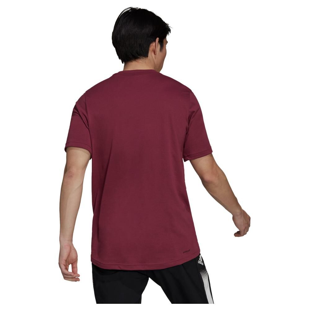 Polera Hombre Adidas D2m Feelready image number 3.0