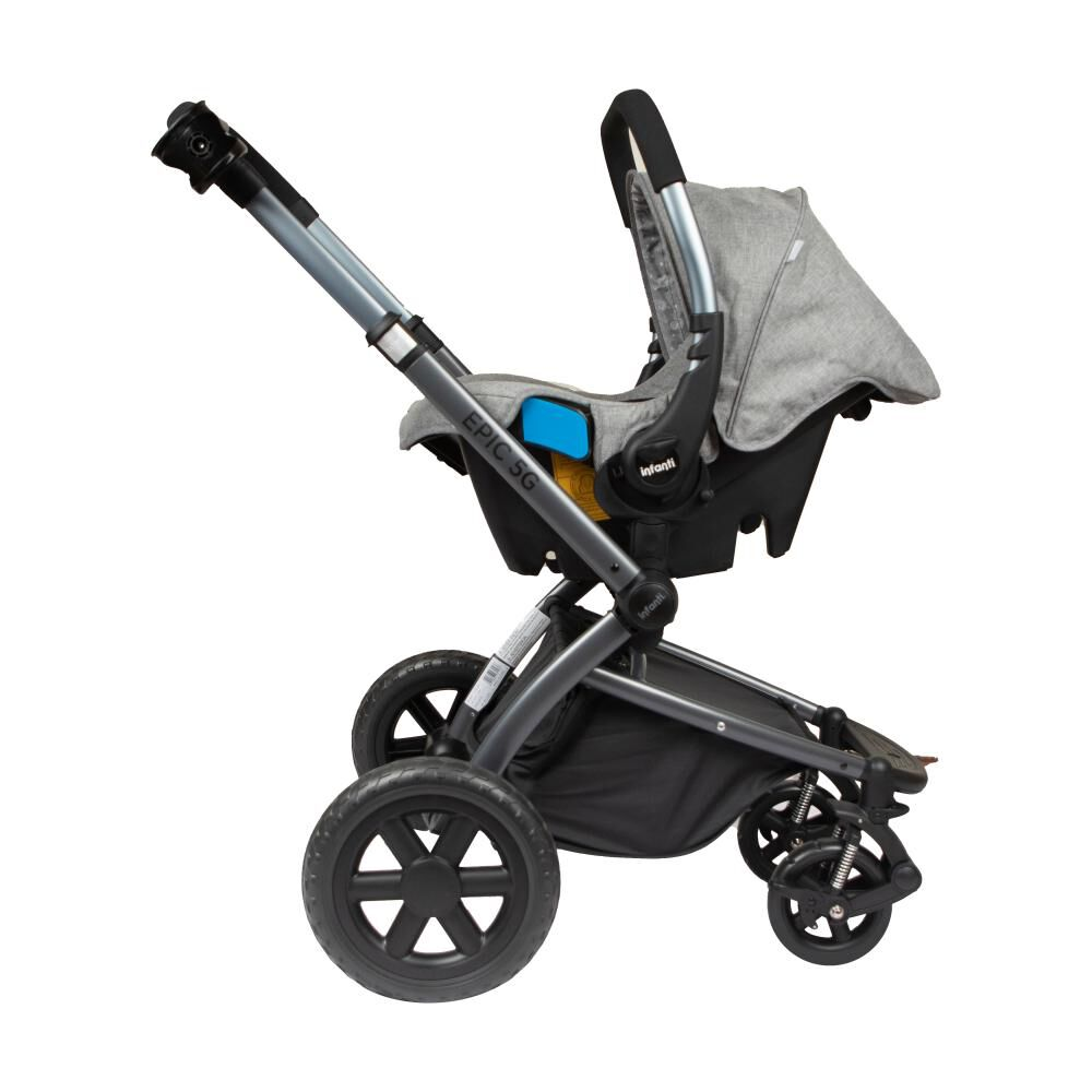 Coche Travel System Infanti System Epic 5g Grey image number 2.0