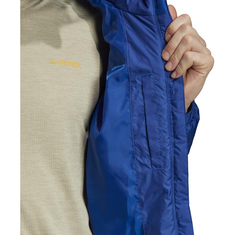 Chaqueta Deportiva Hombre Adidas Insulated Bsc 3 Bandas image number 10.0