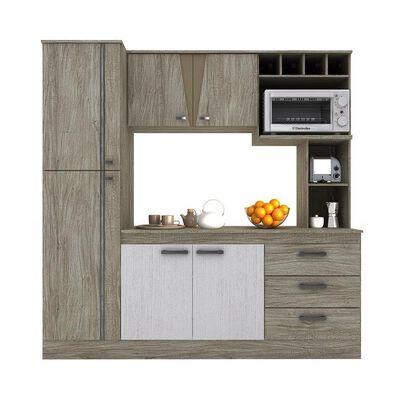 Mueble De Cocina Casaideal New Lorena / 6 Puertas / 3 Cajones