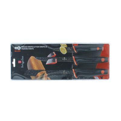 Set De Cuchillos Berlinger Haus Bh-2301 / 3 Piezas