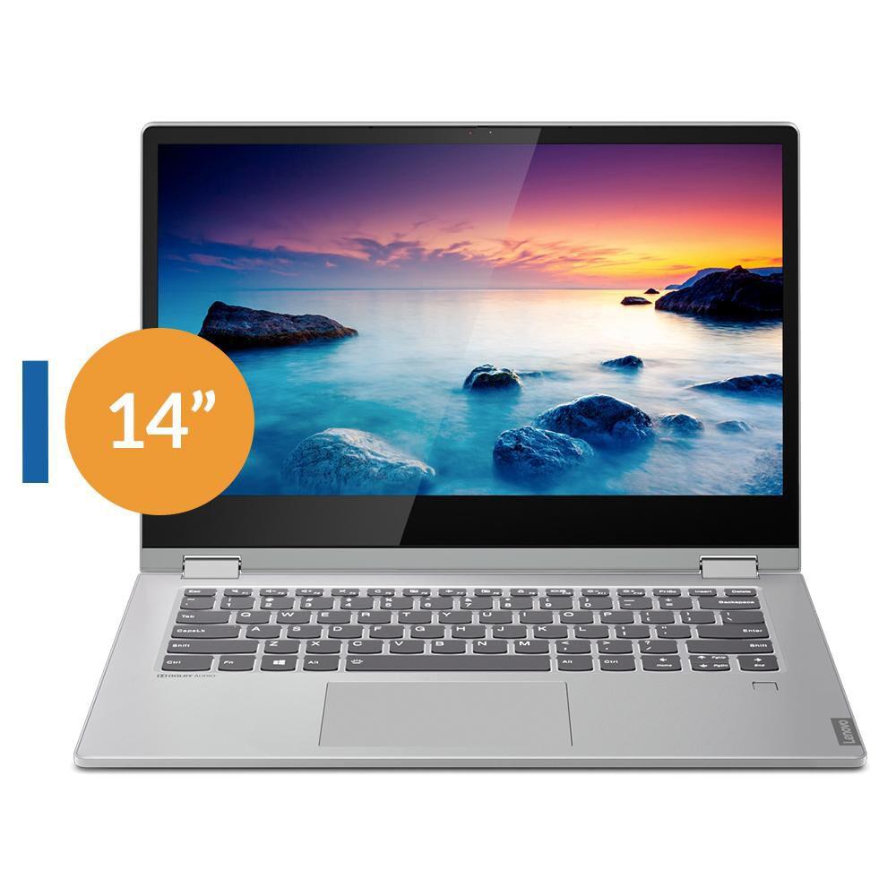 Notebook Ideapad C340-14API R5 Lenovo / AMD Ryzen 5 / 8 GB RAM / 256 GB SSD/ 14'' HD Touch image number 0.0