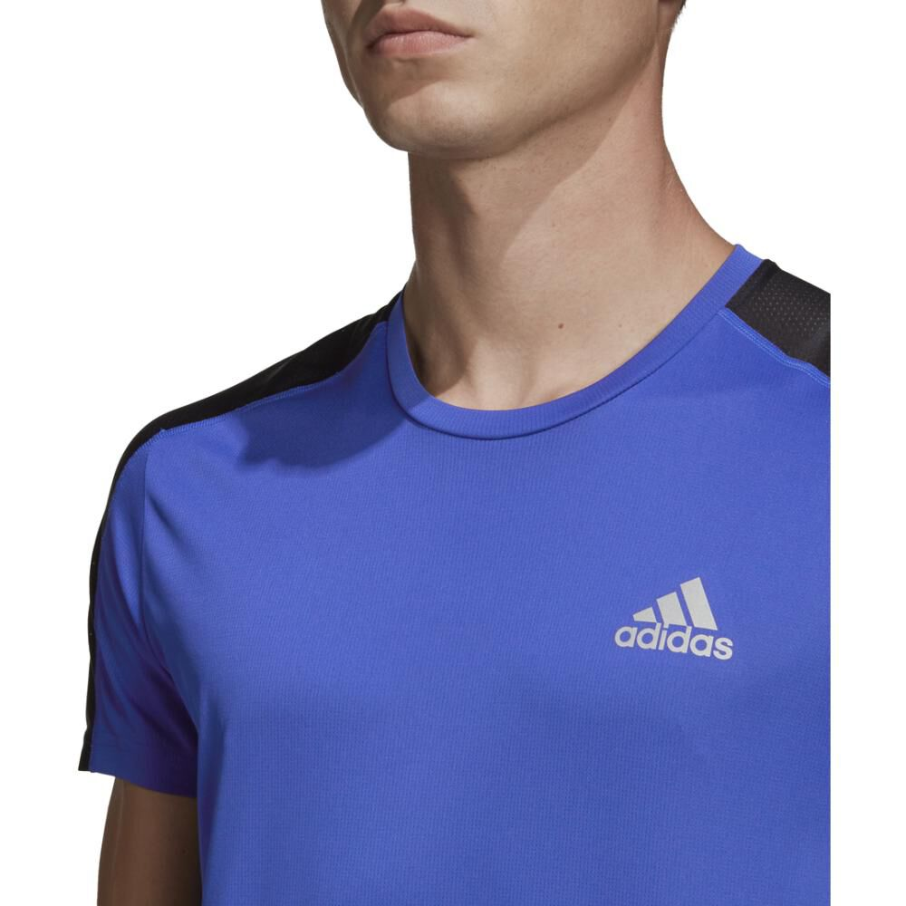 Polera Hombre Adidas Own The Run Tee Men image number 5.0