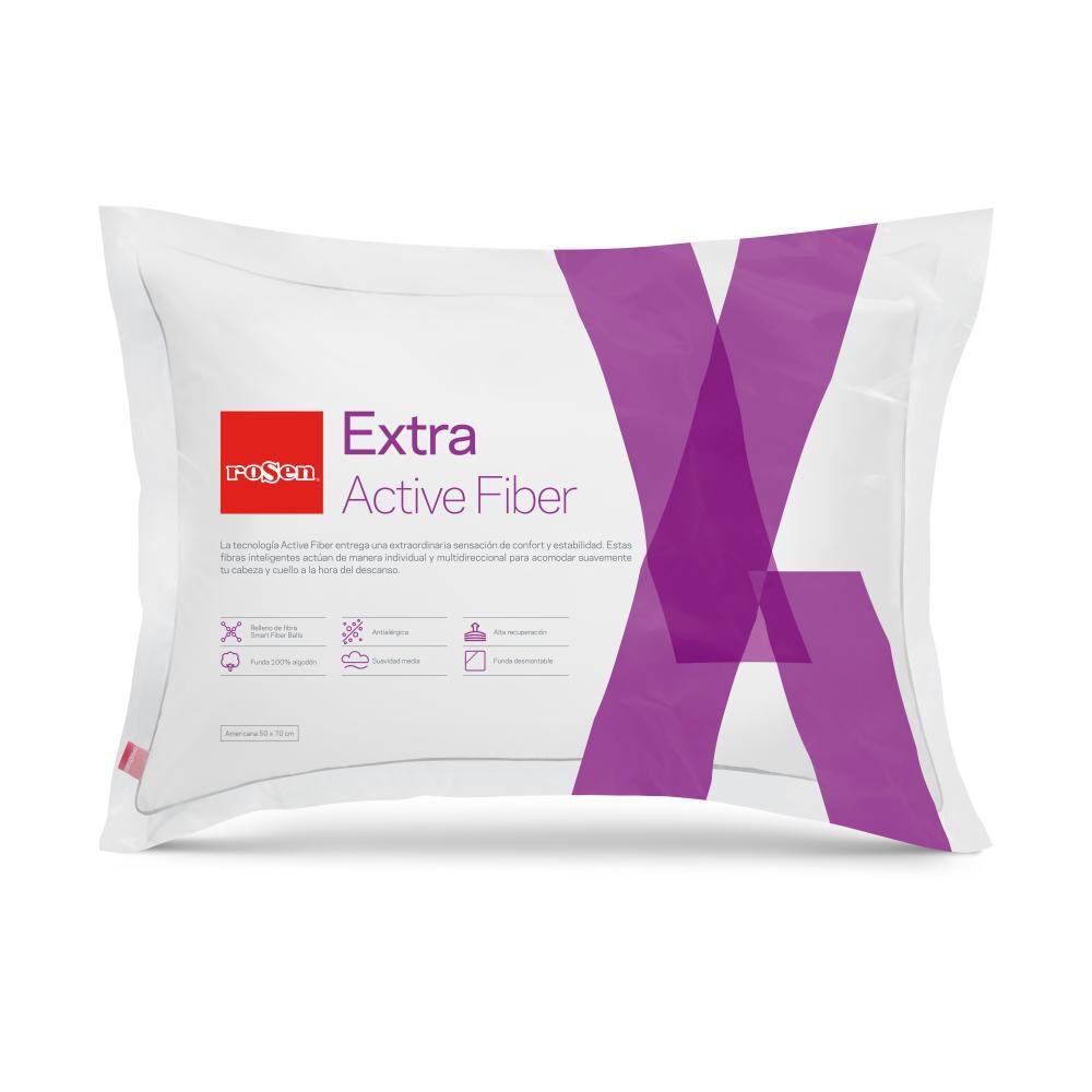 Almohada Rosen Extra Active Fiber / 50X70 Cm image number 0.0