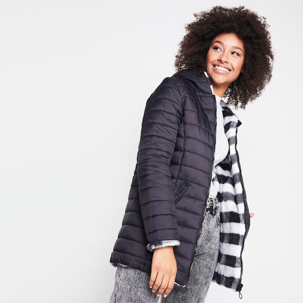 Parka Reversible Mujer Rolly Go image number 4.0