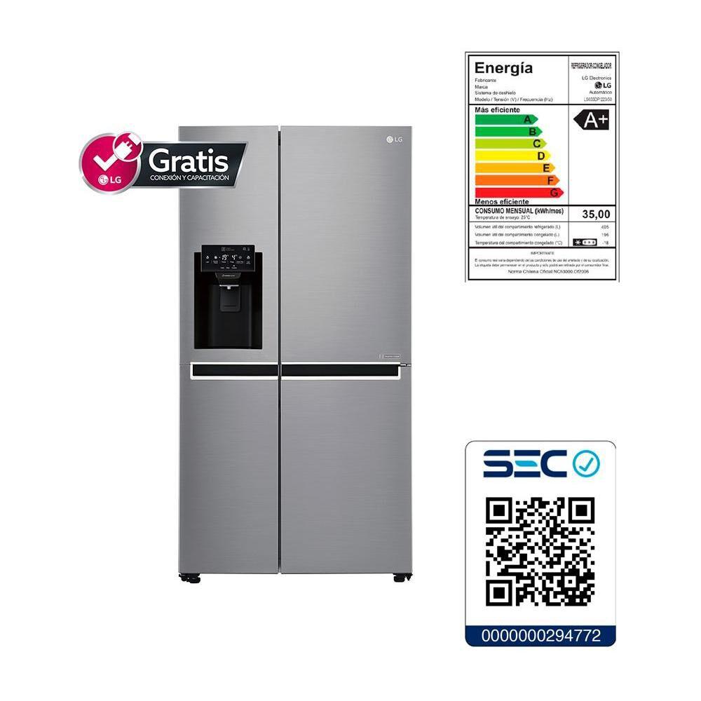 Refrigerador Side By Side LG GS65SPP1 / No Frost  / 601 Litros image number 12.0