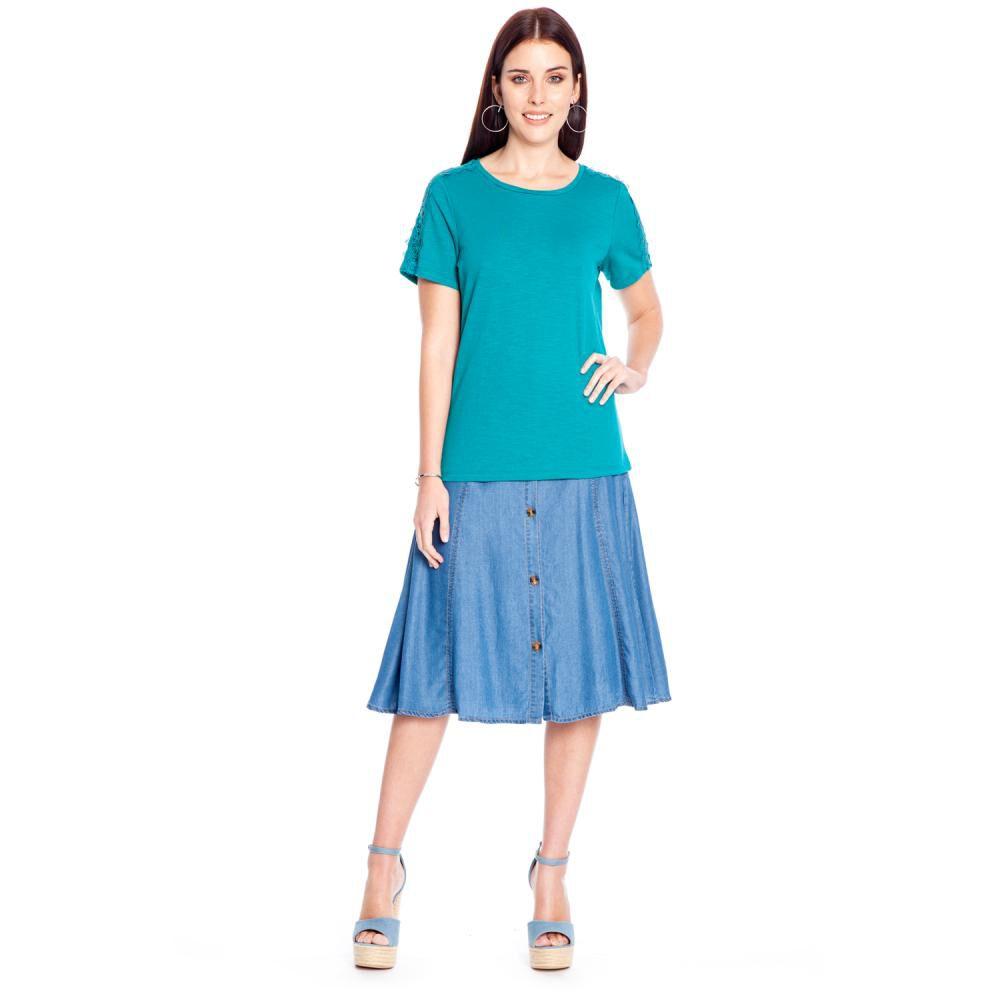 Falda Mujer Curvi image number 3.0