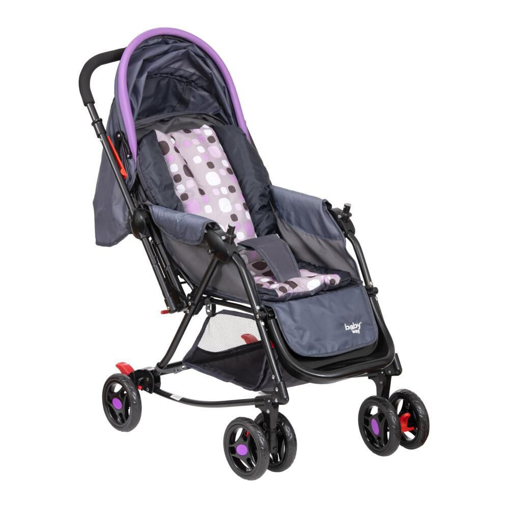 Coche Cuna Baby Way Bw-309M20 image number 5.0