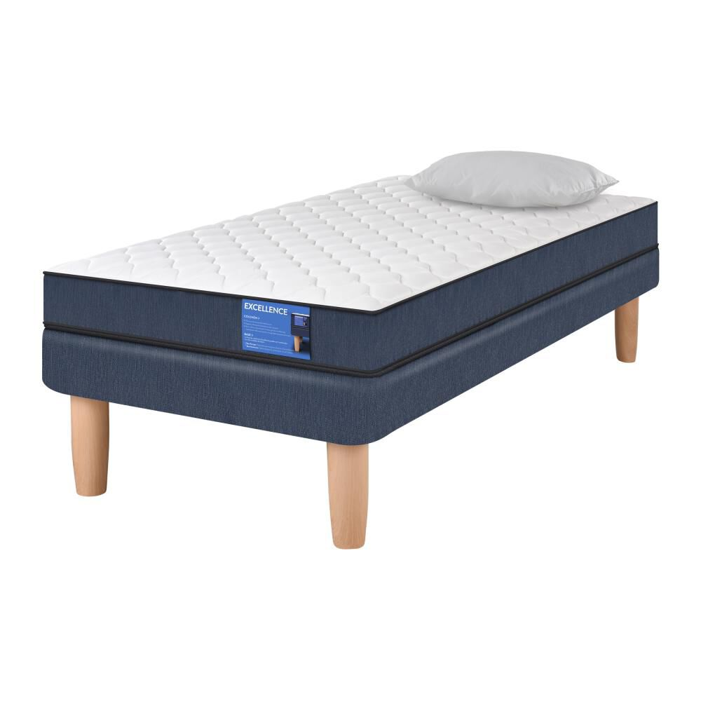 Cama Europea Cic Excellence / 1 Plaza / Base Normal  + Almohada image number 1.0
