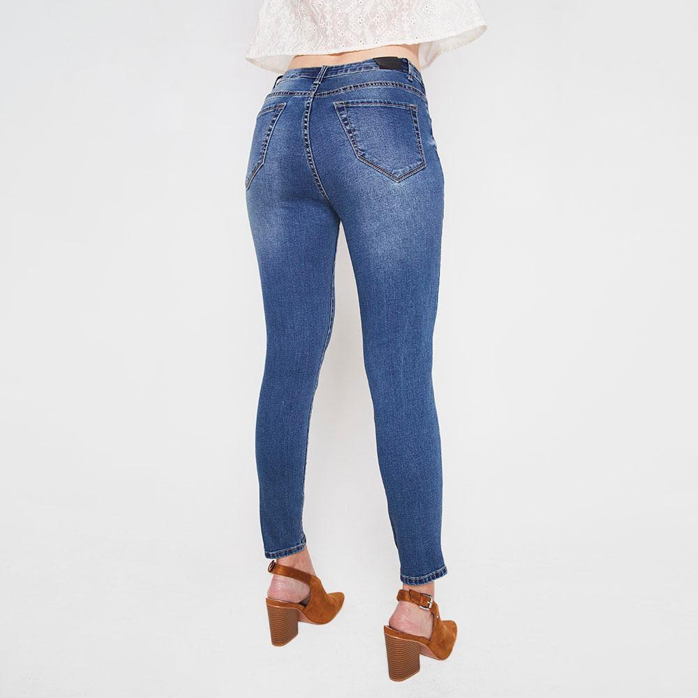 Jeans Mujer Skinny Kimera image number 2.0