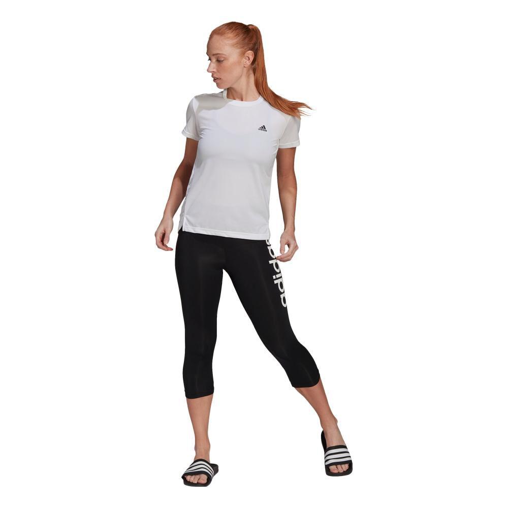 Polera Mujer Adidas 3-stripes Sport image number 0.0