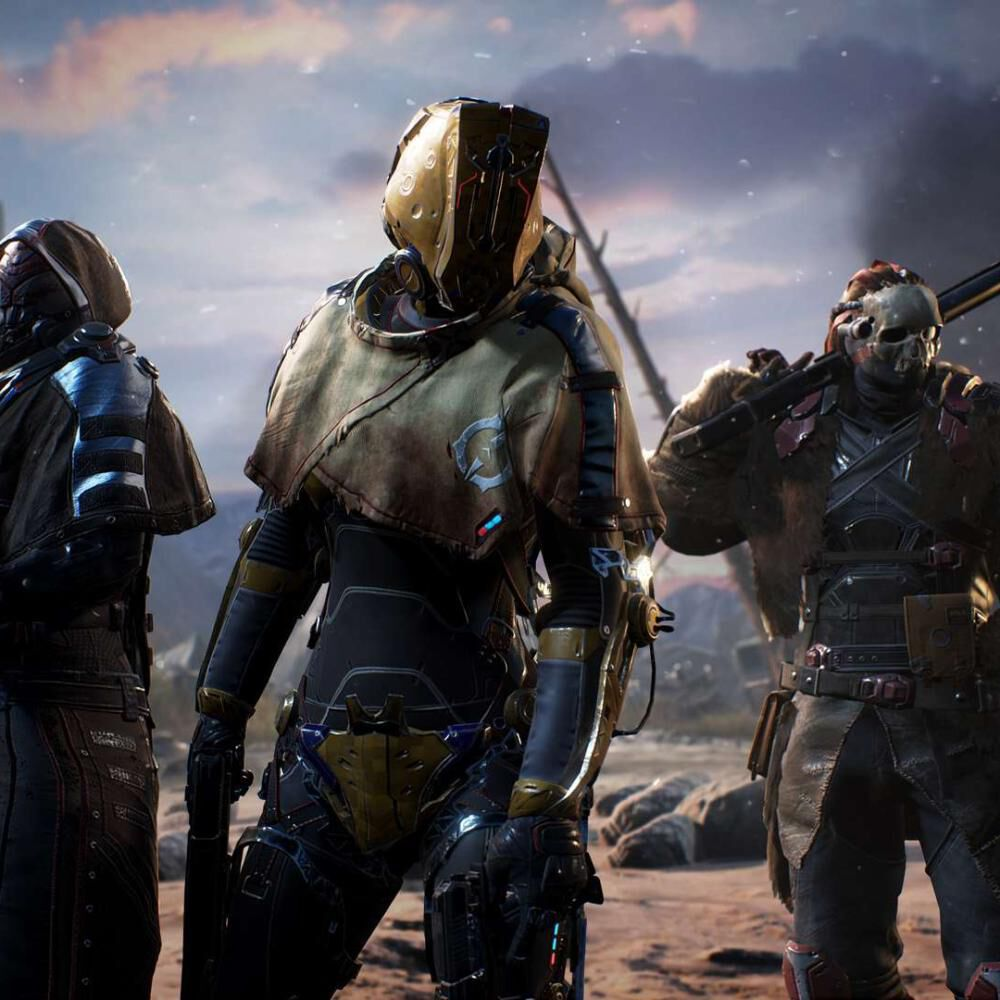 Juego Ps4 Sony Outriders image number 1.0