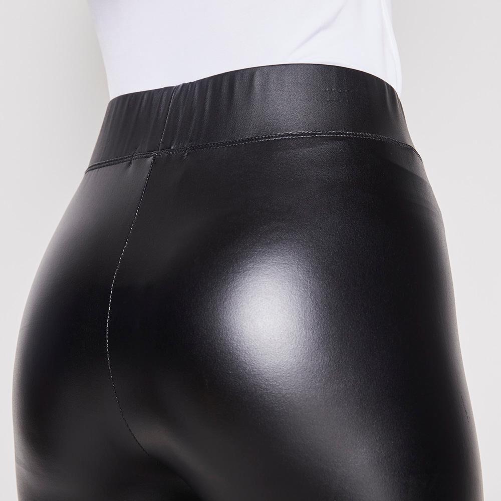 Calza Negra Engomada Mujer Rolly Go image number 3.0