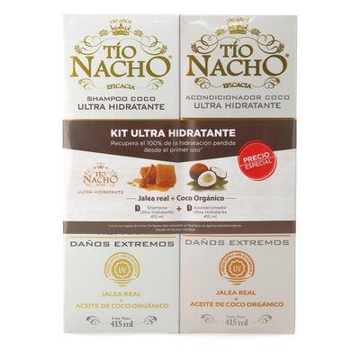Set Tio Nacho Ultra Hidratante Shampooo 415 Ml + Acondicionador 415 Ml