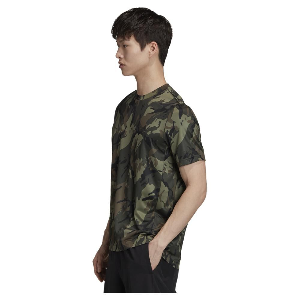Polera Hombre Adidas Designed To Move image number 1.0