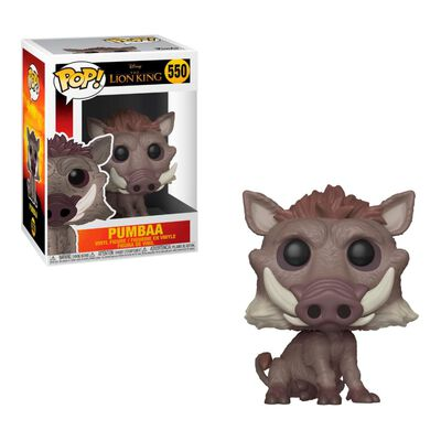 Figura De Acción Funko Pop Disney The Lion King Live Action Pumbaa