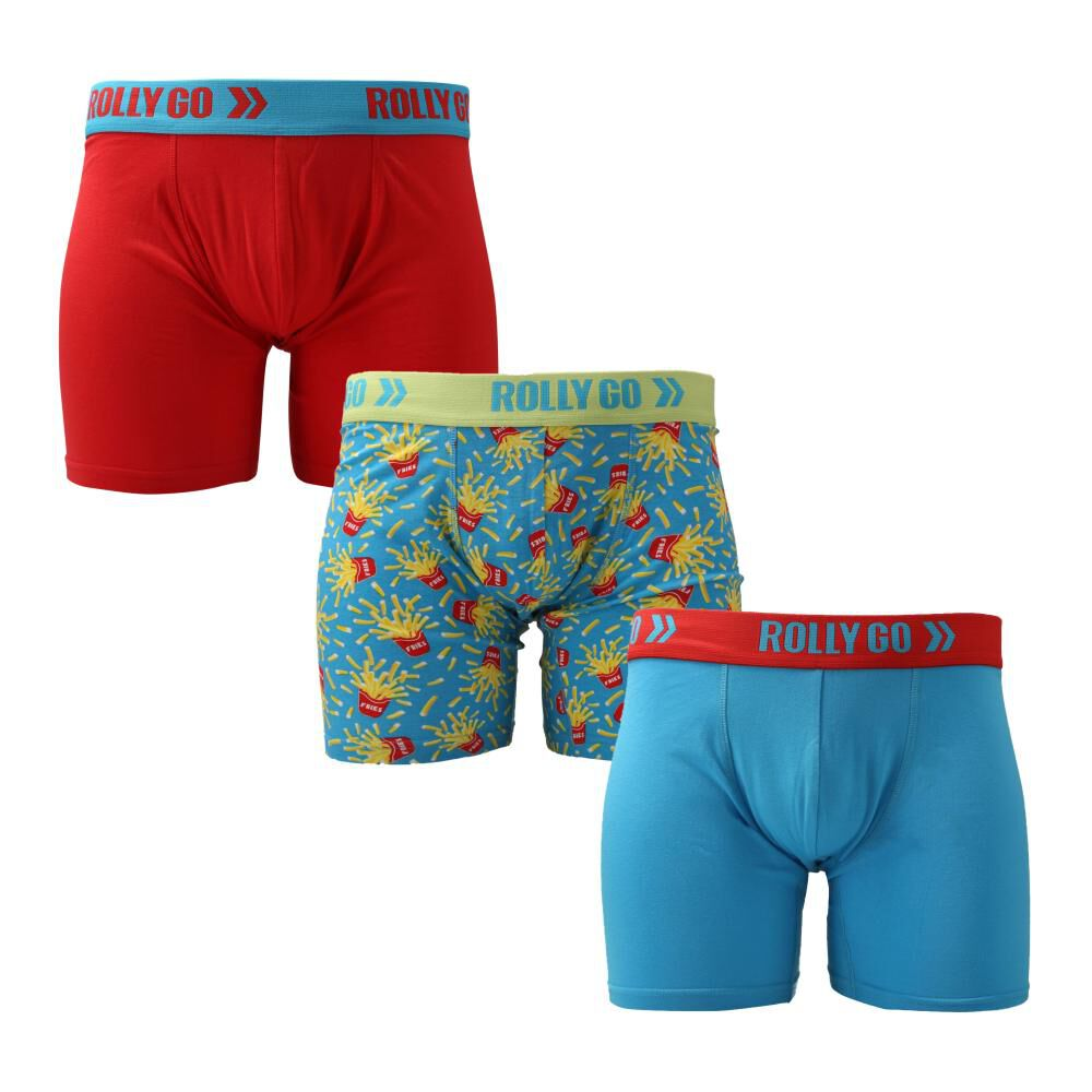 Pack Boxer Boxer Unisex Rolly Go / 3 Unidades image number 0.0