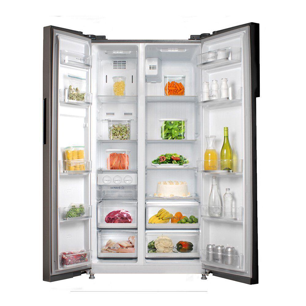 Refrigerador Midea Side By Side Mrsbs-5300G689We / No Frost / 527 Litros image number 2.0
