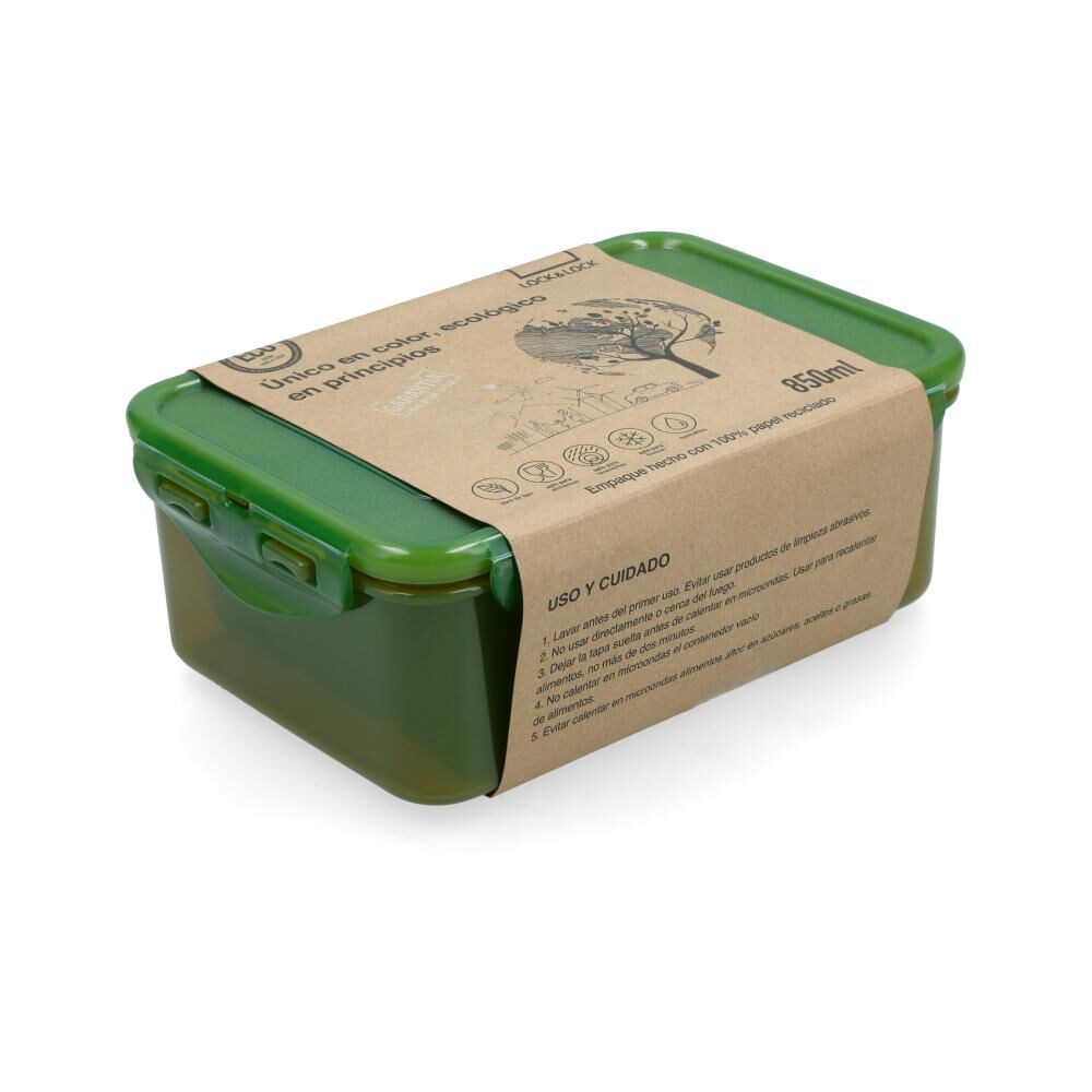 Contenedor Hermetico Lock&Lock 850 Ml  / 2 Piezas image number 0.0