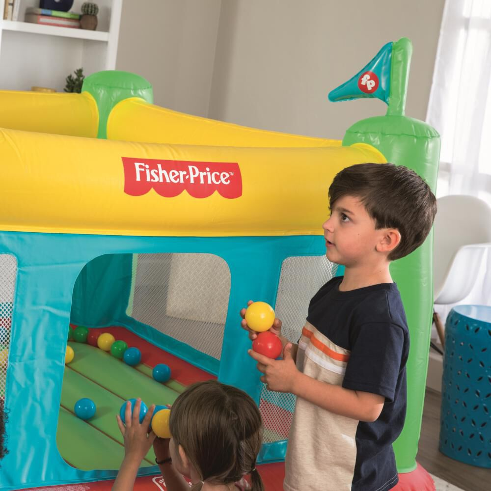Castillo Inflable Eléctrico Fisher Price Bouncesational image number 9.0