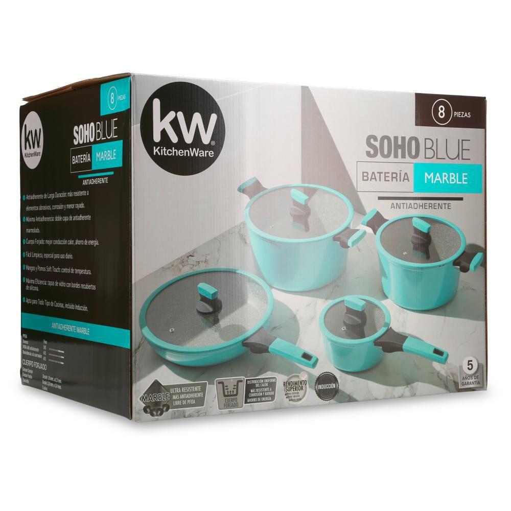 Bateria De Cocina Kitchenware Soho 8 Pz / 8 Piezas image number 5.0