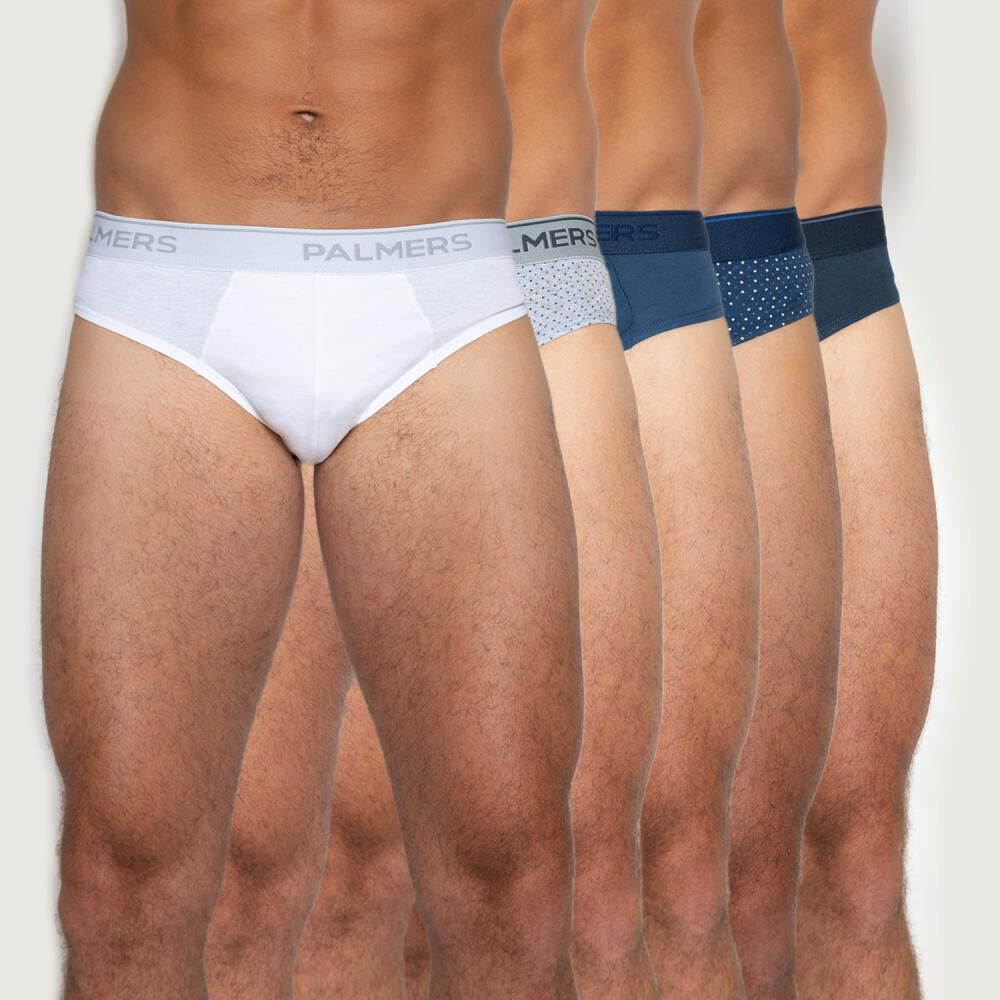Pack Slips Hombre Palmers / 5 Unidades image number 0.0