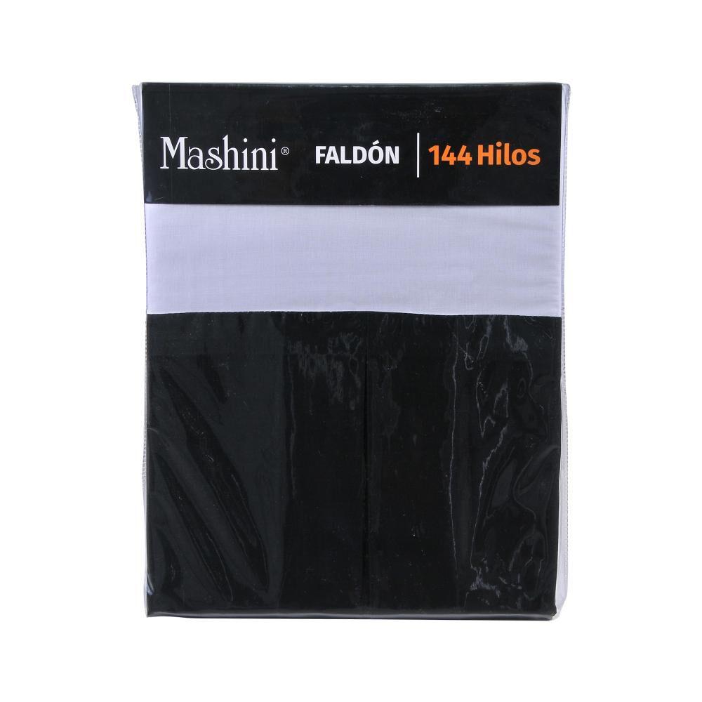 Faldón Mashini Liso / 2 Plazas / 144 Hilos image number 2.0