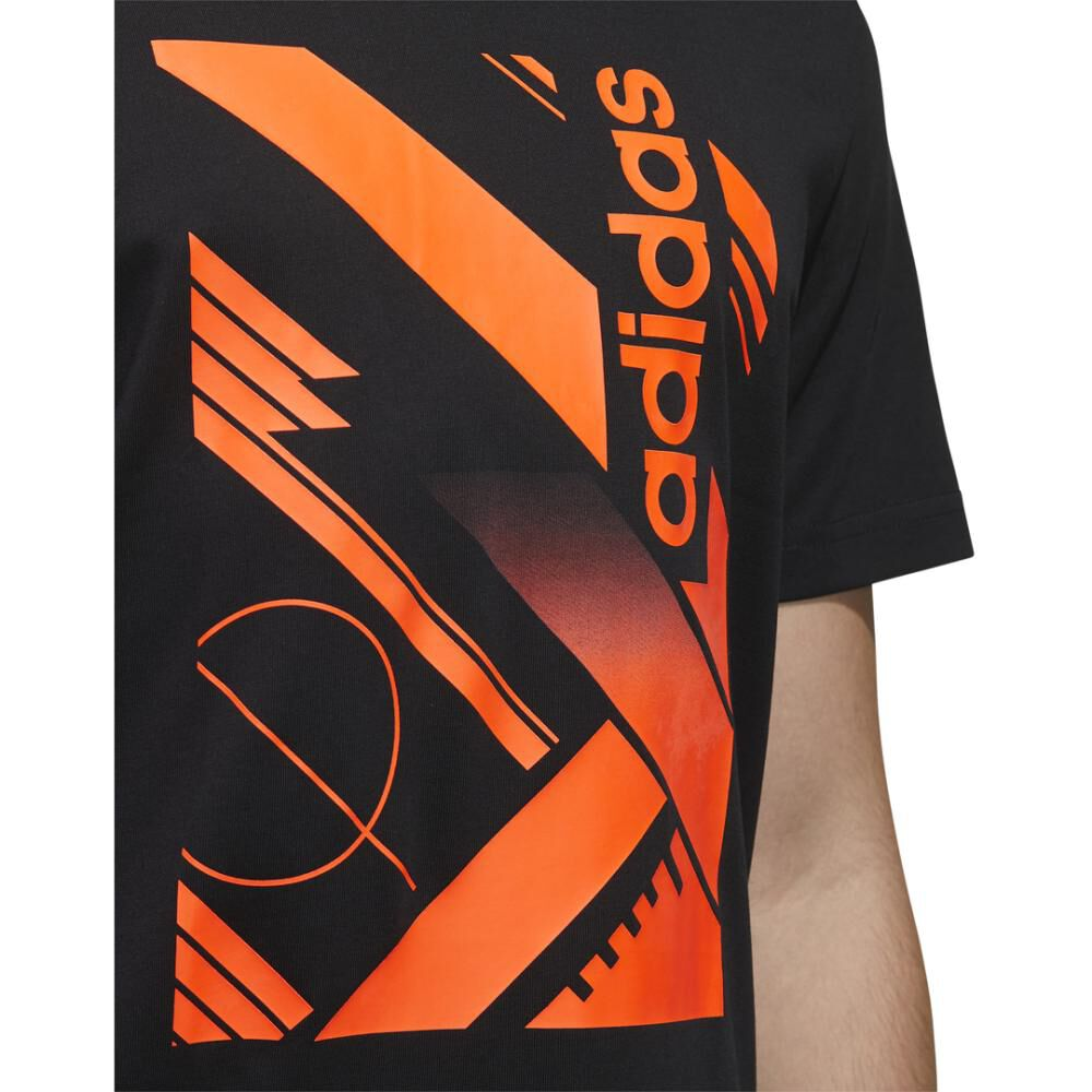 Polera Adidas M Core Graphic Linear Tee 2 image number 6.0