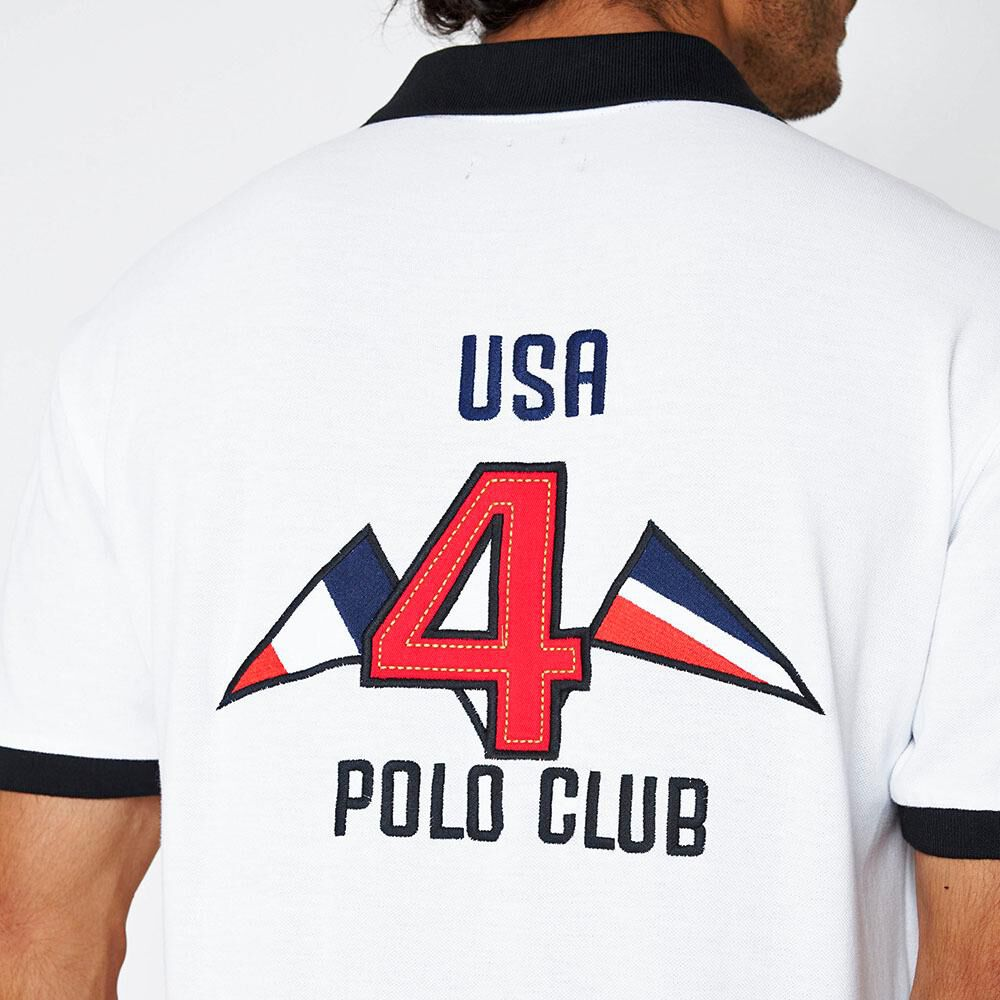 Polera Hombre The King's Polo Club image number 5.0