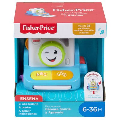 Juegos Fisher Price Cámara Sonríe Y Aprende