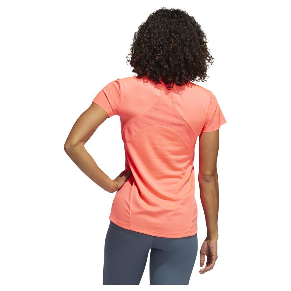 Polera Mujer Adidas De Entrenamiento Heat.rdy image number 3.0