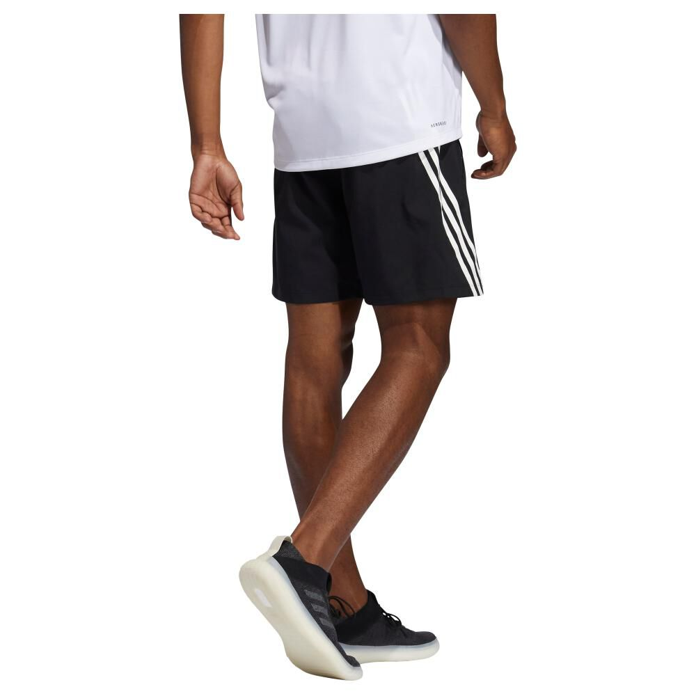 Short Hombre Adidas Aeroready Woven 3s 8-inch image number 2.0