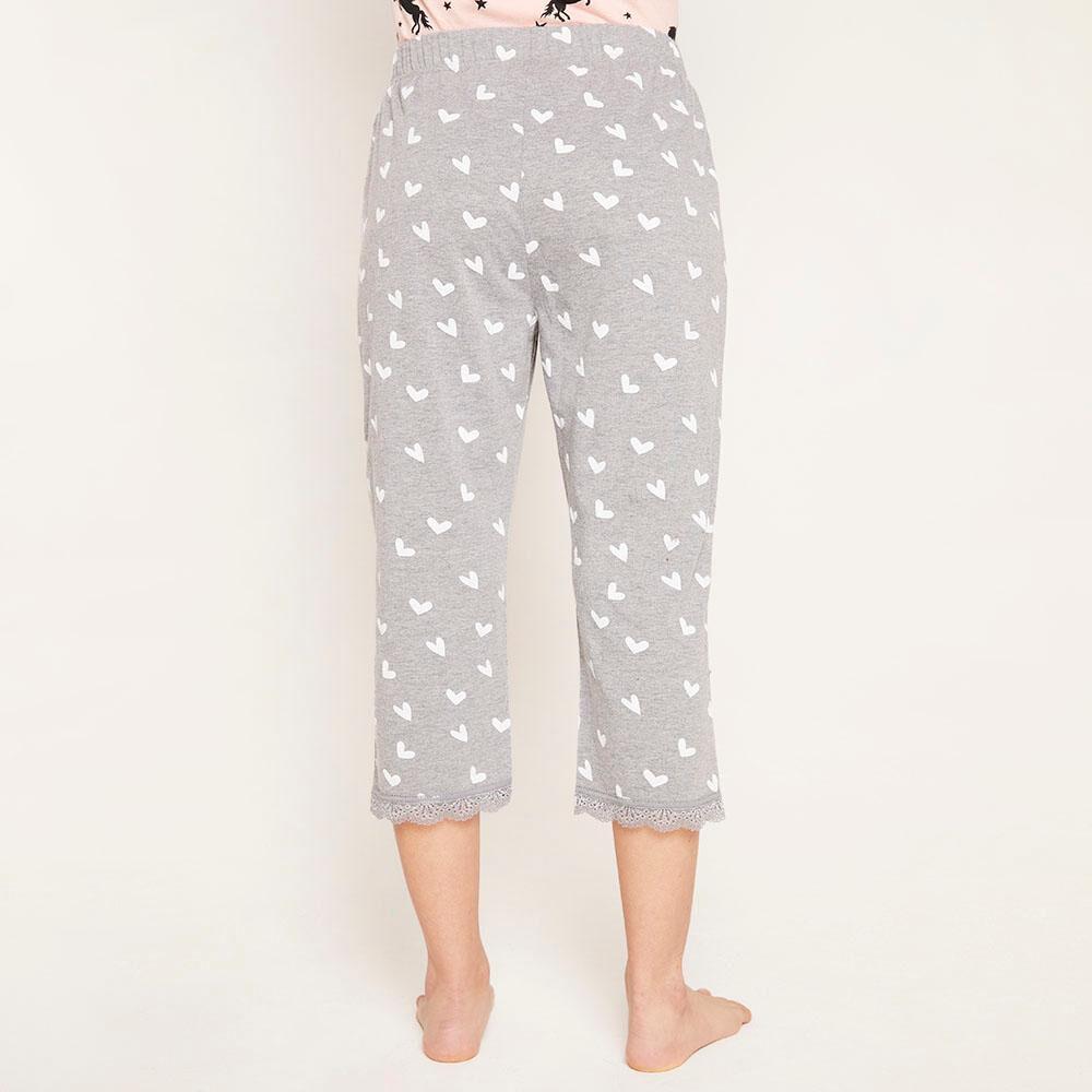 Pantalón Pijama Capri Mujer Freedom image number 2.0