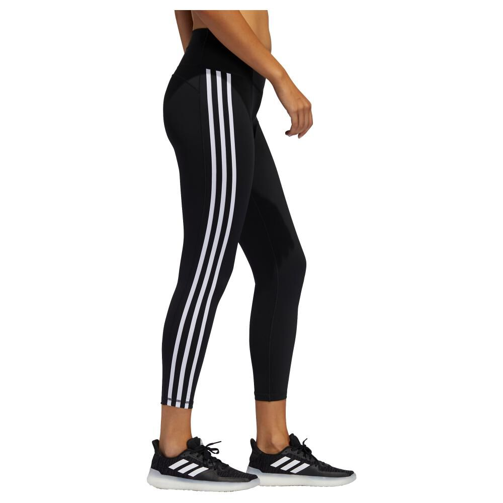 Calza Mujer Adidas Believe This 2.0 3 Stripe 7/8 Tight image number 1.0