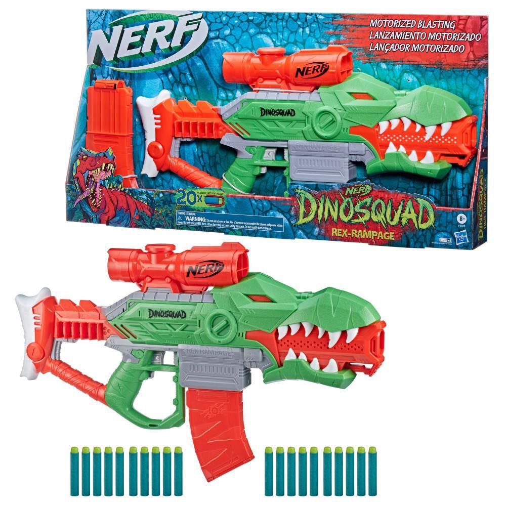 Lanzador De Dardos Nerf Dinosquad Rex-rampage image number 0.0