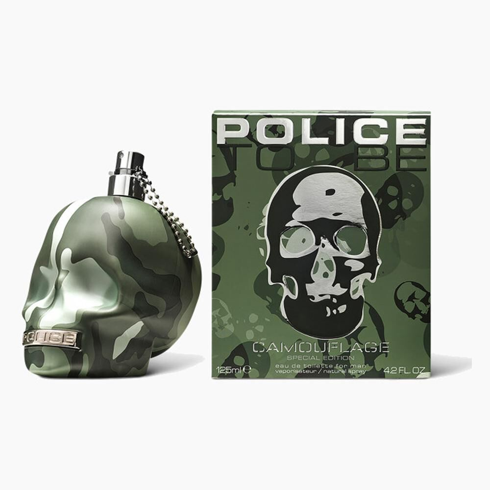Perfume To Be Camouflage Police / 125 Ml / Edt image number 1.0