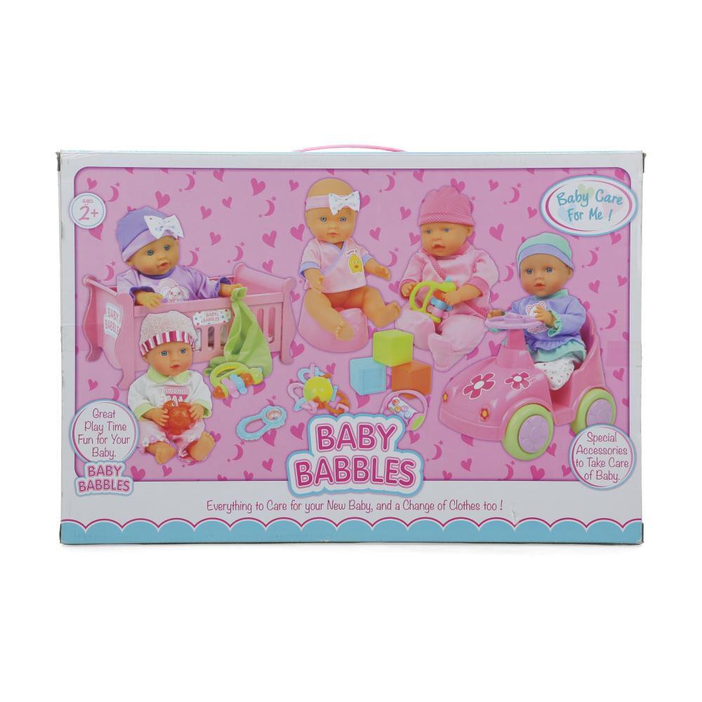 Muñeca Hitoys Baby Babbles image number 2.0