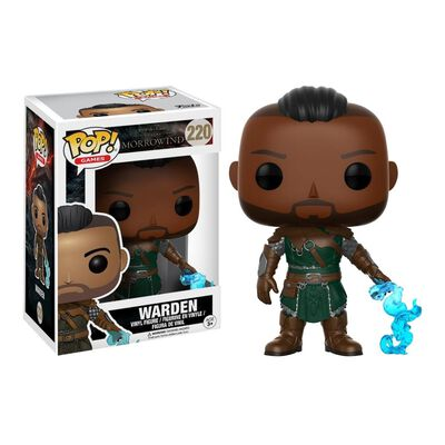 Figura De Acción Funko Pop Games Elder Scrolls / Warden