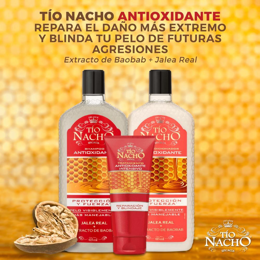 Pack Shampoo + Acondicionador Tío Nacho Antioxidante image number 3.0