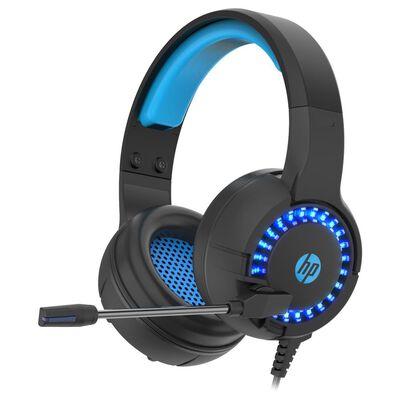 Audífonos Gamer Hp Dhe-8011 Usb+3.5 Led