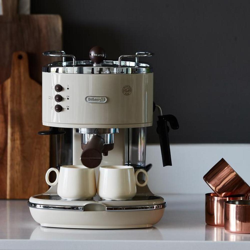 Cafetera De Longhi Icona Vintage Beige Ecov311bg / 1,4 Litros image number 2.0