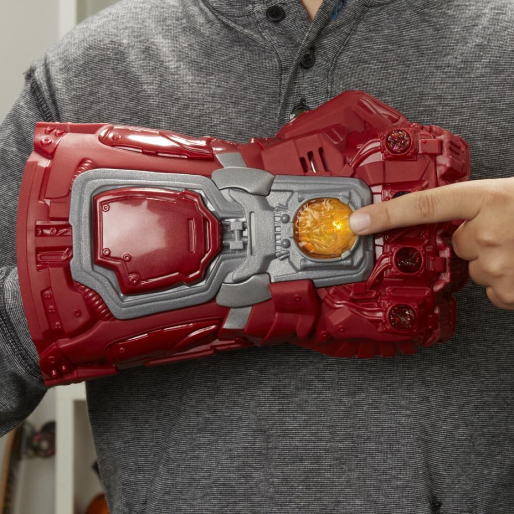 Figura De Accion Avenger Iron Man Guantelete Electrónico Sfx De Película image number 2.0
